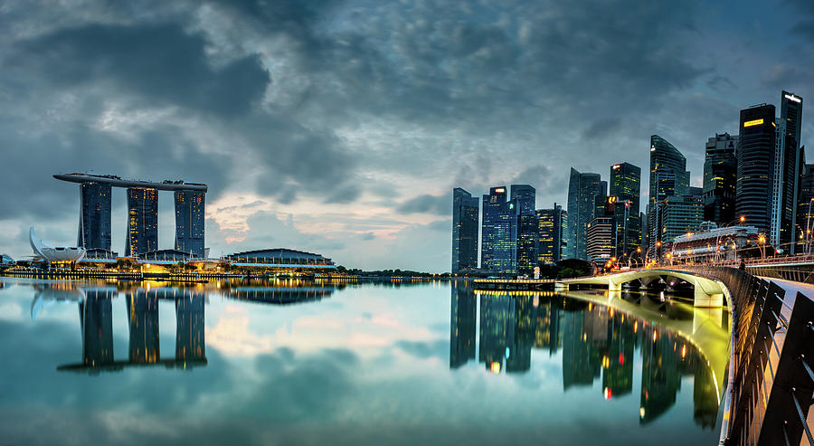 Singapore Lighst by Chris Cousins