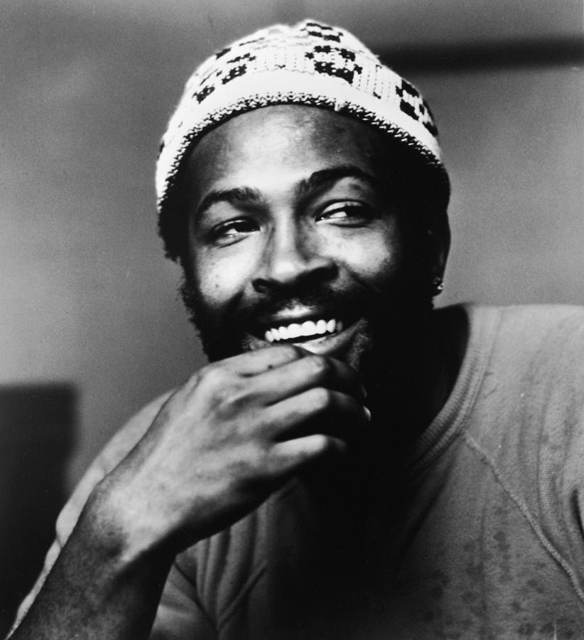 Singer Marvin Gaye In Knit Cap Photograph by Pictorial Parade