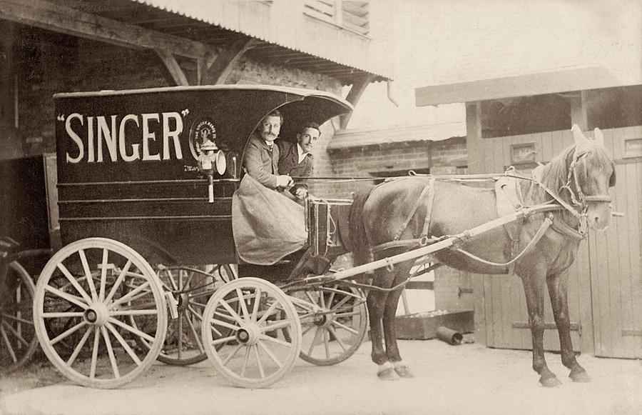 Singer Sewing Machine Wagon by Jayson Tuntland