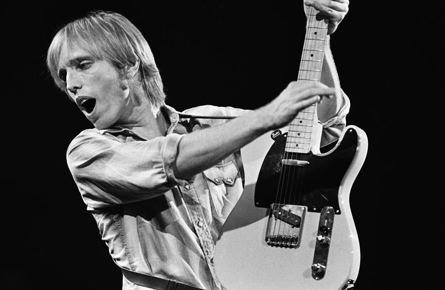Singer Tom Petty Performs In Concert Photograph by George Rose