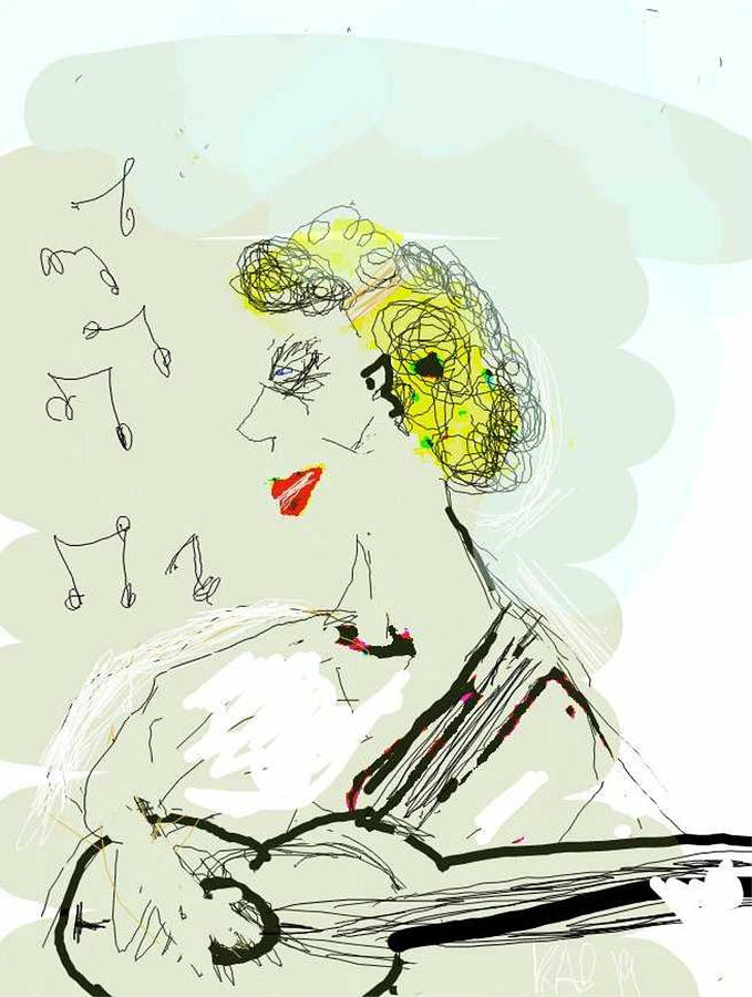 Singing About Happiness by Kathy Barney