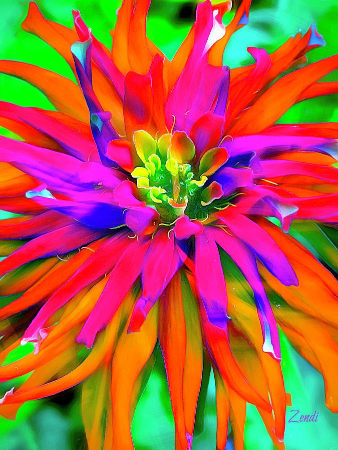Singing Bloom by Cindy Greenstein
