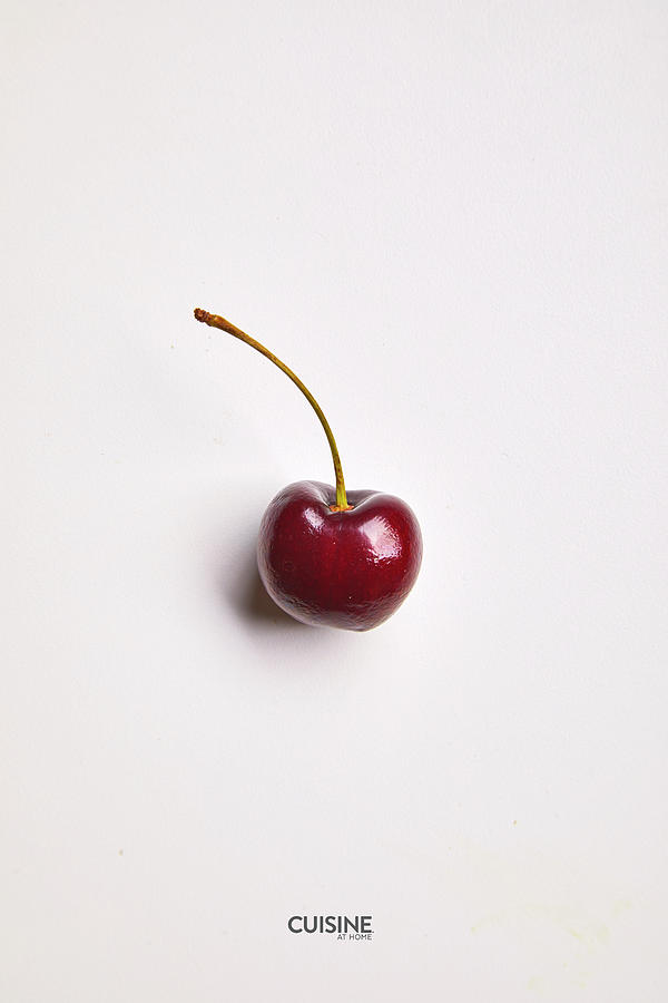 Single cherry by Cuisine at Home
