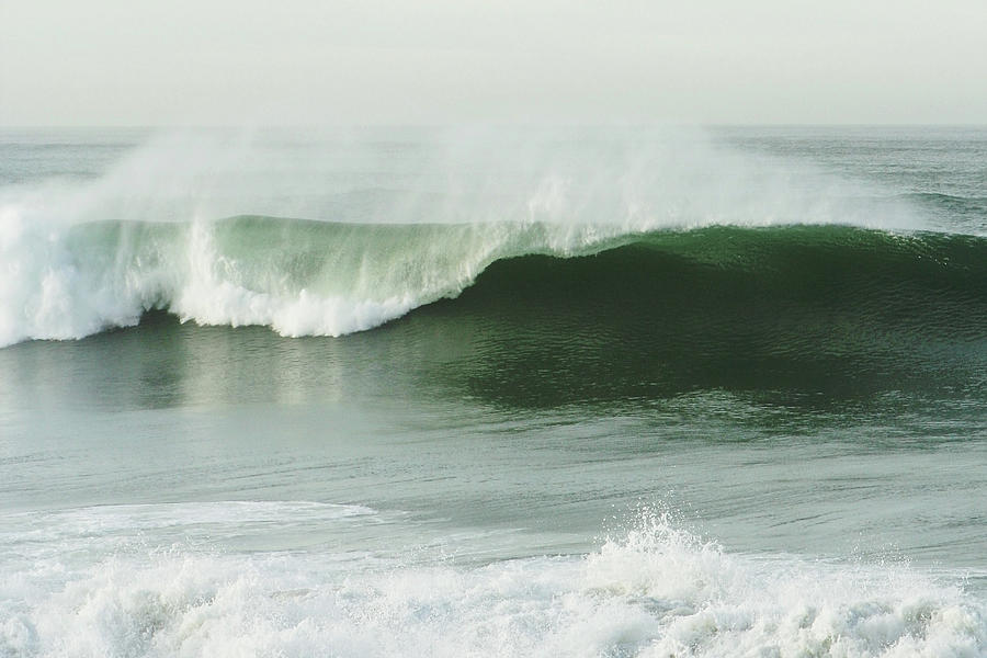 Single Wave In The Ocean Photograph by Kevinruss