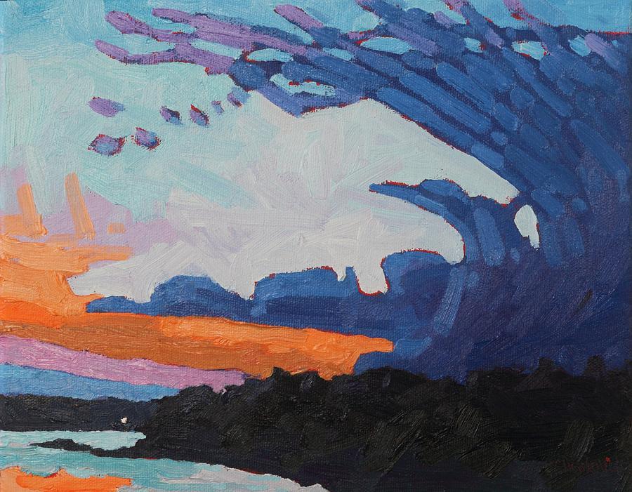 Singleton Sunset Anvil by Phil Chadwick