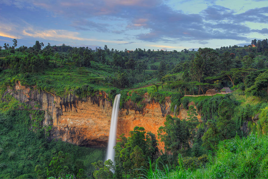 Sipi Falls by Peter Kennett