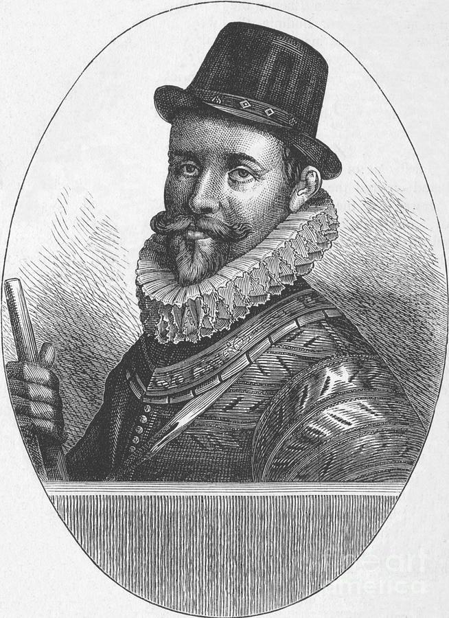 Sir John Hawkins Drawing by Print Collector