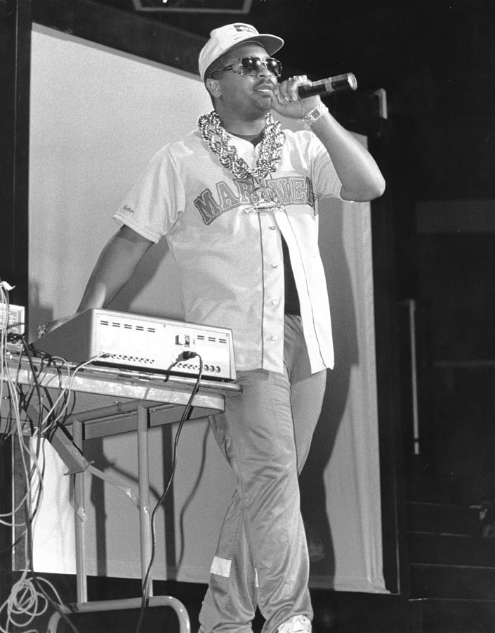 Rock Music Photograph - Sir Mix-a-lot Performs by Raymond Boyd