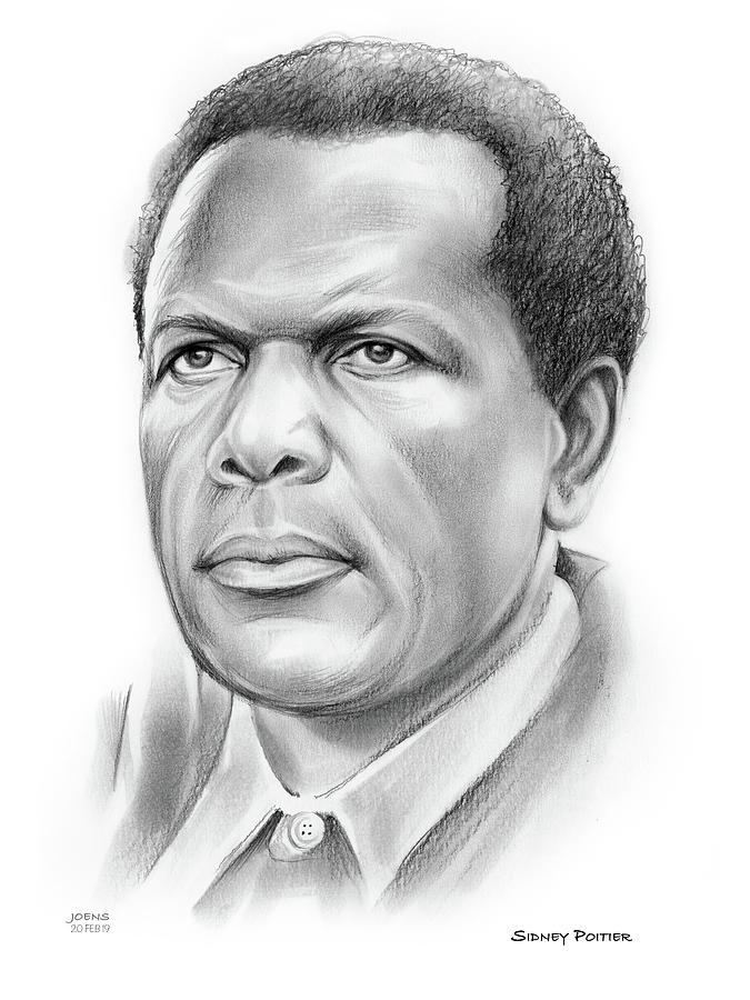 Sir Sidney Poitier Drawing