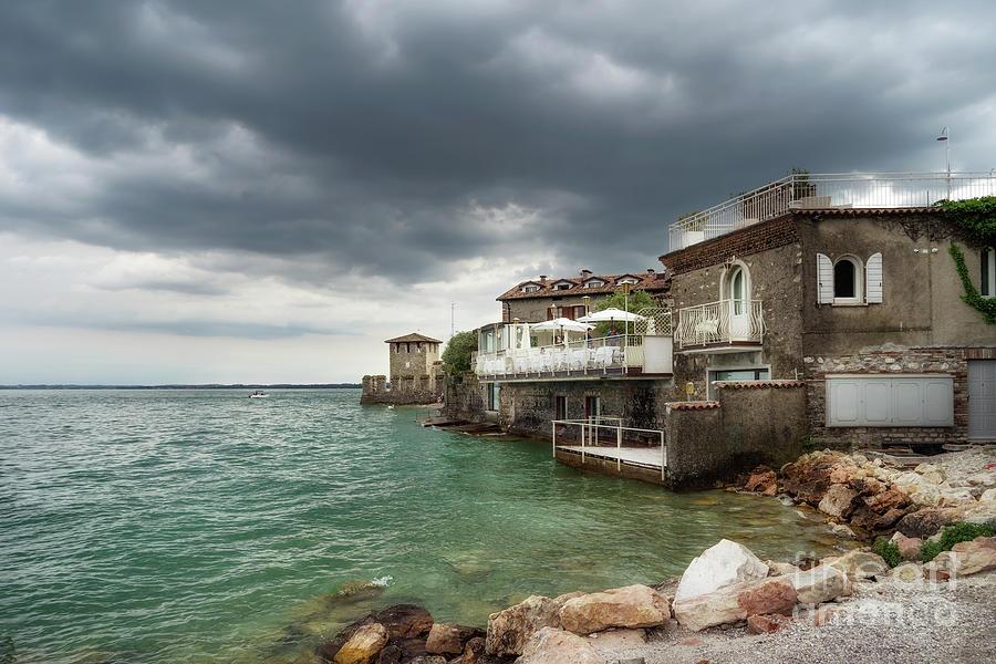 Sirmione Lake Garda by Ann Garrett