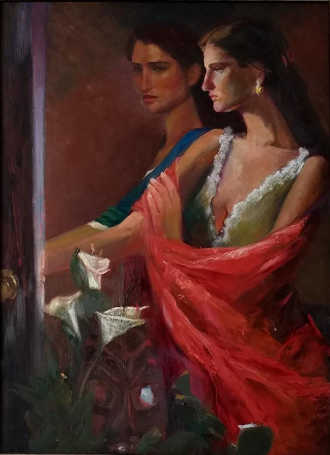 Sisters at the Door by Irena Jablonski