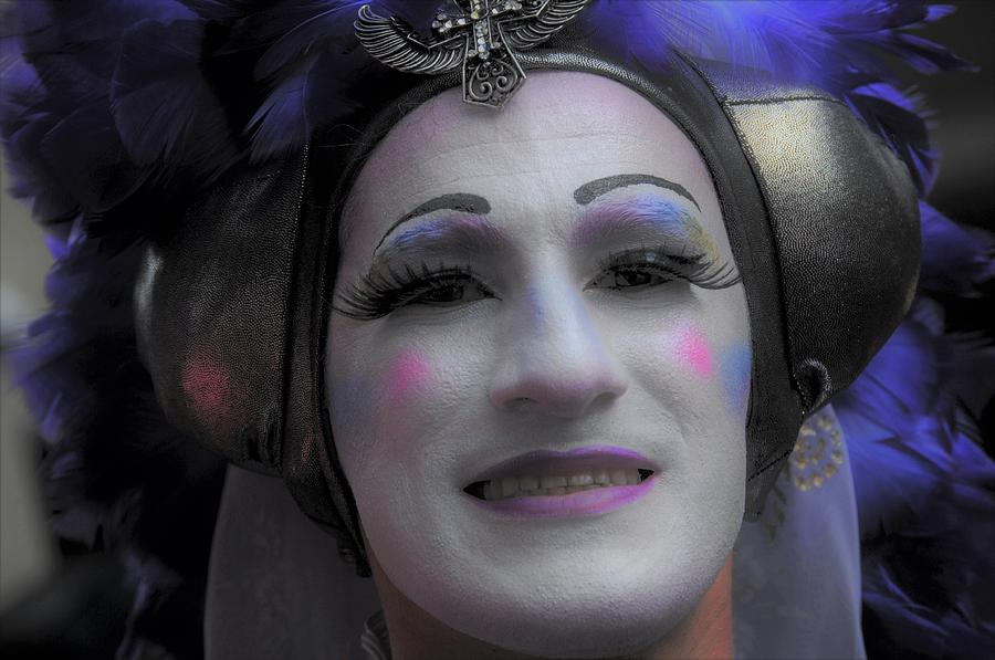 Nola Photograph - Sisters Of Perpetual Indulgence At The Southern Decadence In New Orleans Louisiana  by Michael Hoard