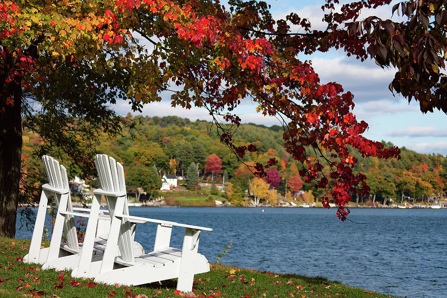 Sitting for a spell at Church Landing by Jeff Folger