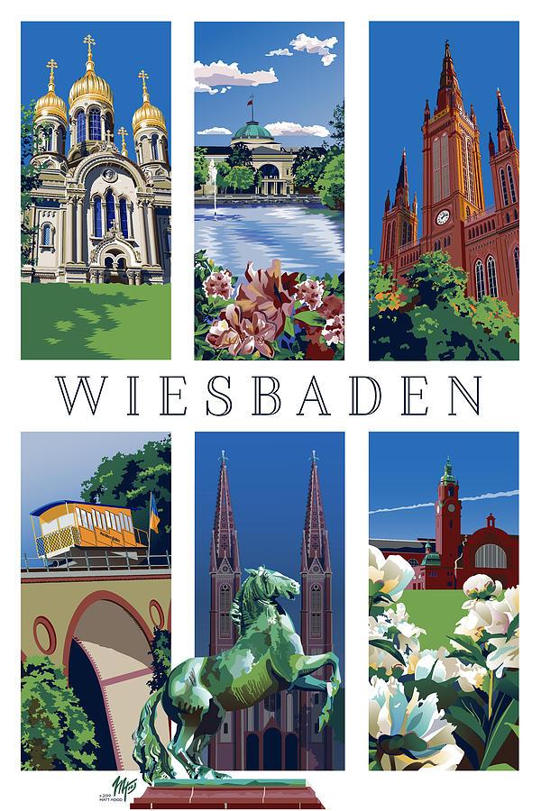 Six Views of Wiesbaden by Matt Hood