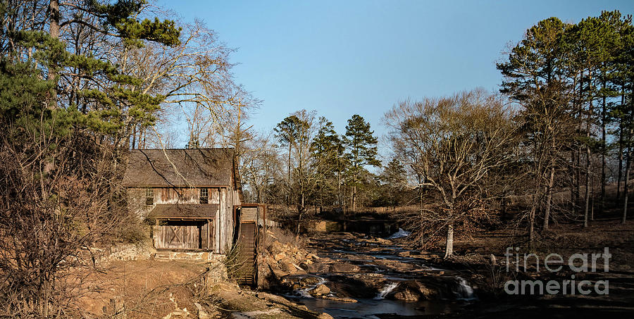 Home Decor Digital Art - Sixes Mill by Elijah Knight