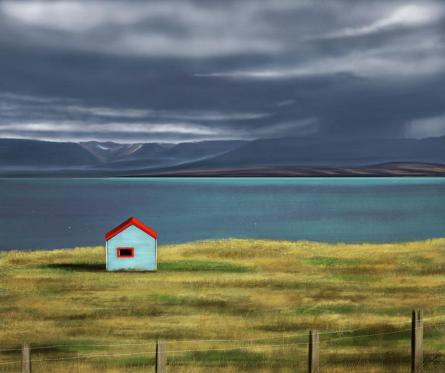 Skagafjordur Bay by Shawna Rowe