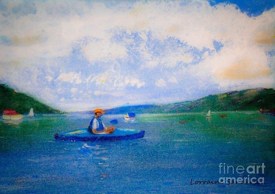 Skaneateles Lake Kayak by Lorraine Sanderson