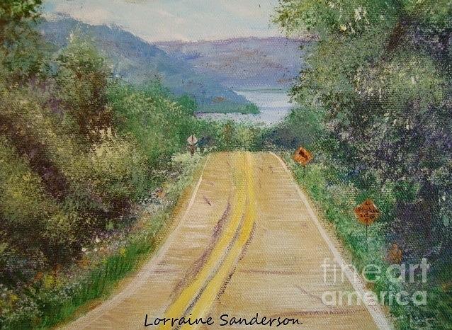 Skaneateles Lake South  by Lorraine Sanderson