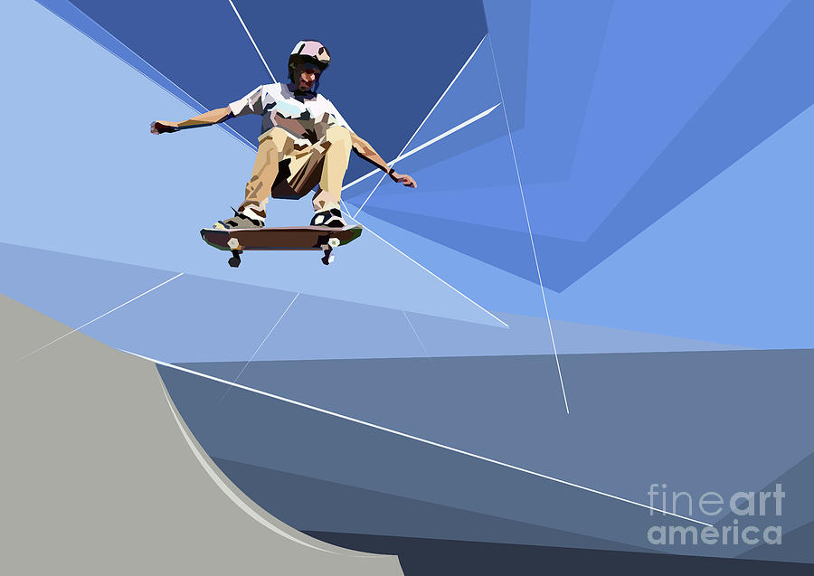 Skateboarder by Wendy Thompson