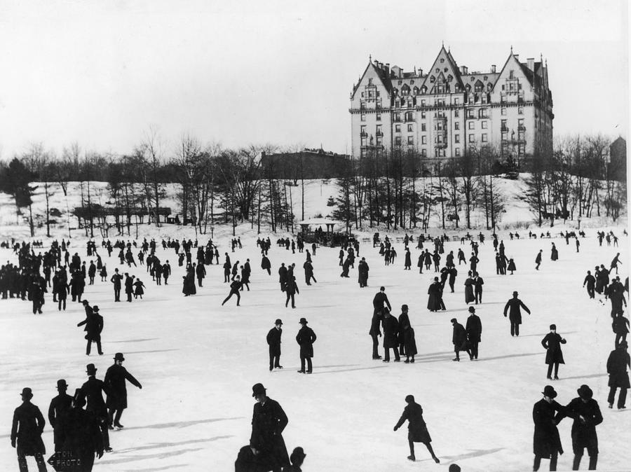 Skating In Central Park, Nyc Photograph by Fotosearch