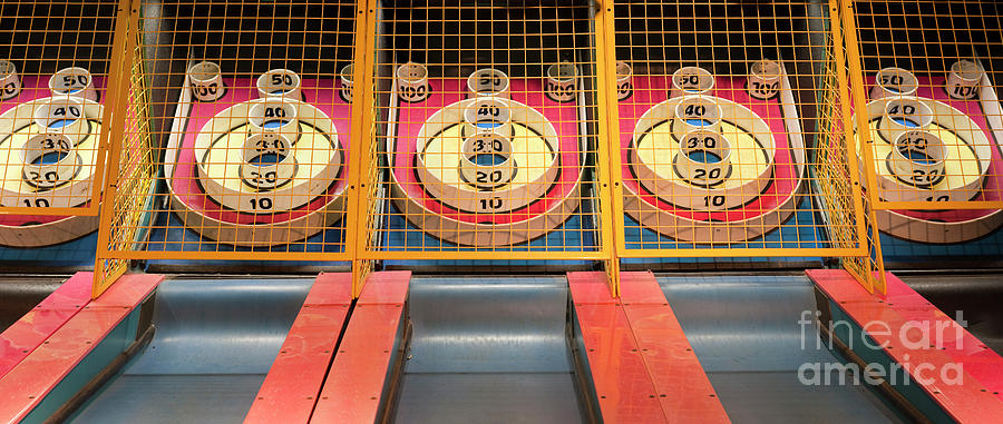 Skee Ball Panorama Xxl Photograph by Wbritten