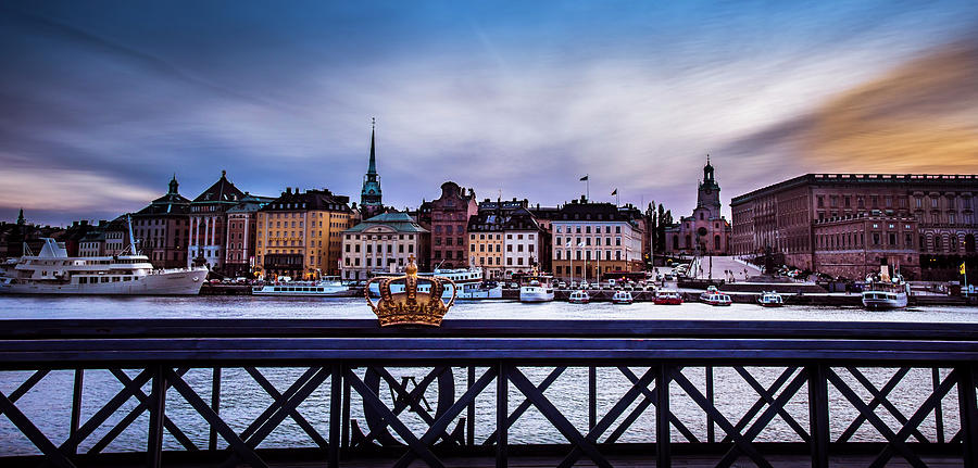 Skeppsholmsbron by David Morefield