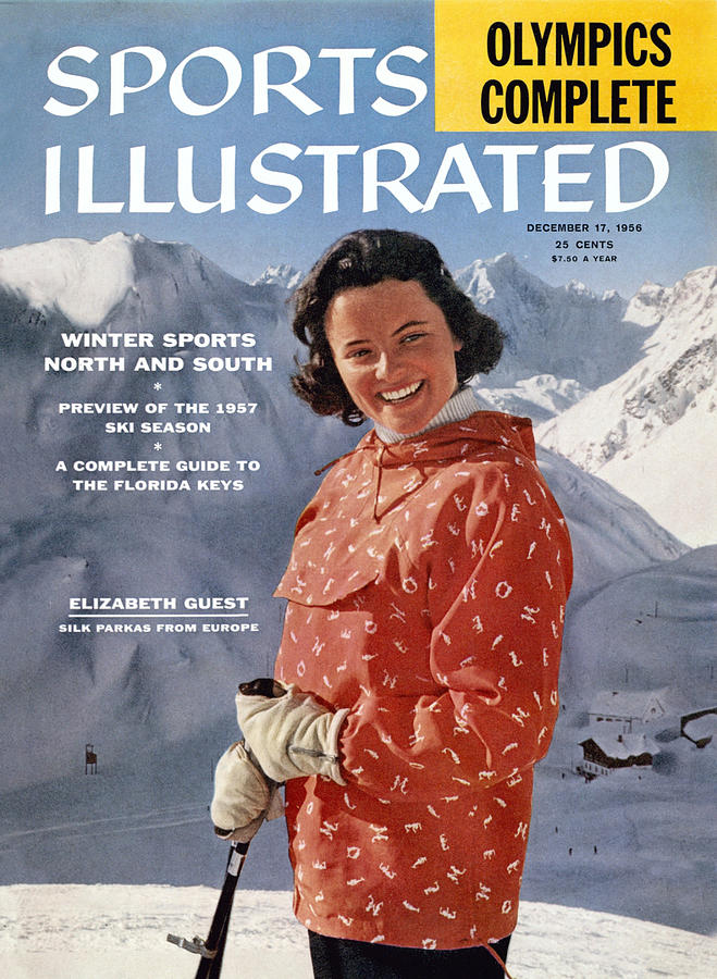 Ski Clothes In Austria Sports Illustrated Cover Photograph by Sports Illustrated