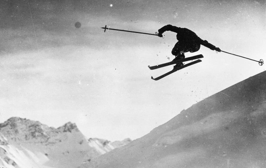 Ski Jumping Photograph by Carlstein