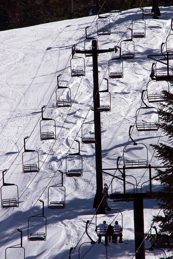 Ski Lift At Yosemite National Park Photograph by M Timothy Okeefe