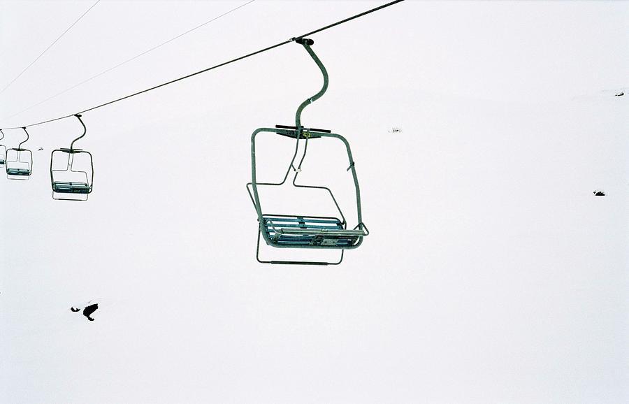 Ski Lift By Thomas Grass