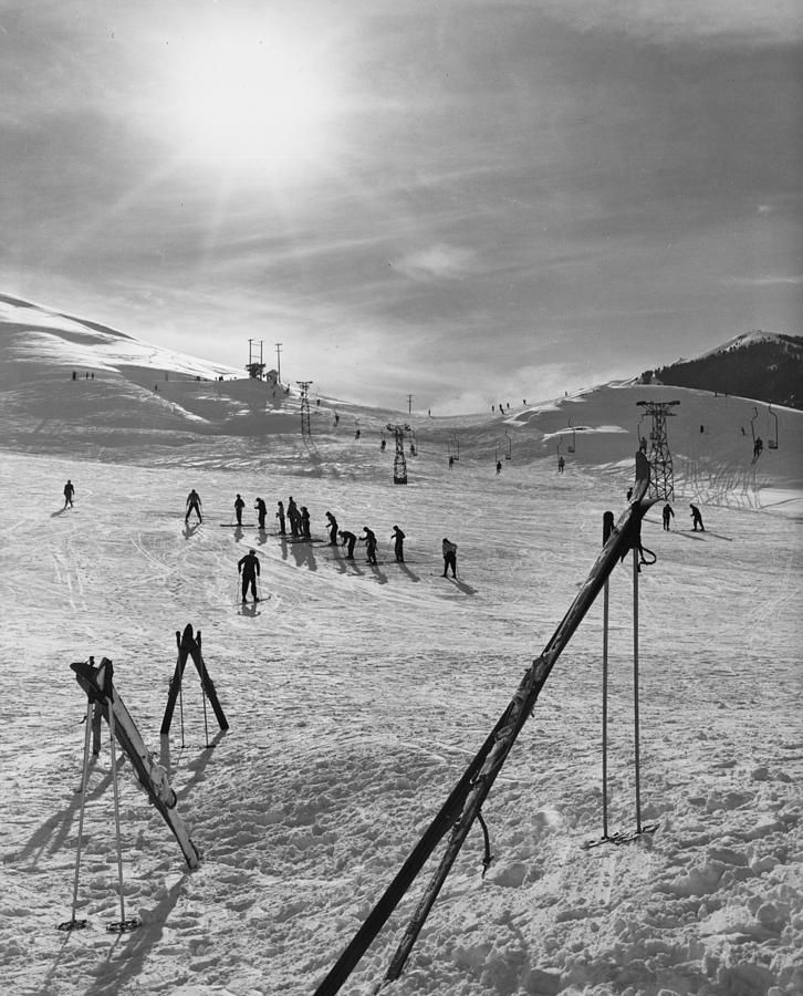Ski School Photograph by Evans