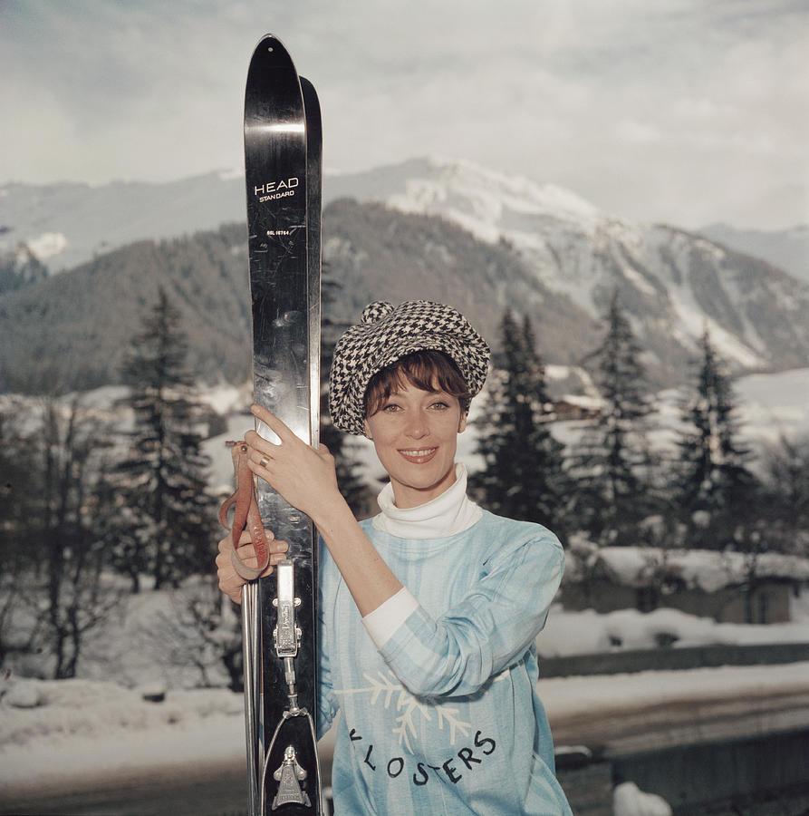 Ski Siren Photograph by Slim Aarons