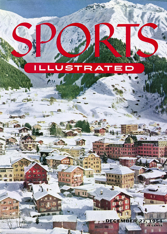 Skiing At The Parsenn Sports Illustrated Cover Photograph by Sports Illustrated