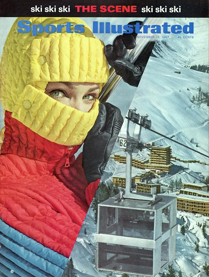 Skiing, Ski Fashion Sports Illustrated Cover Photograph by Sports Illustrated