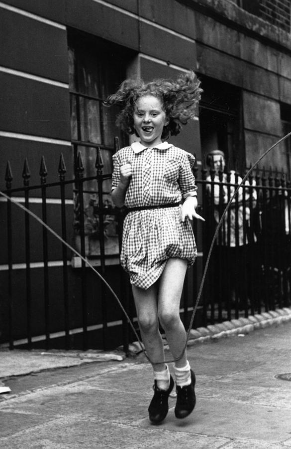 Skipping Rope Photograph by Thurston Hopkins