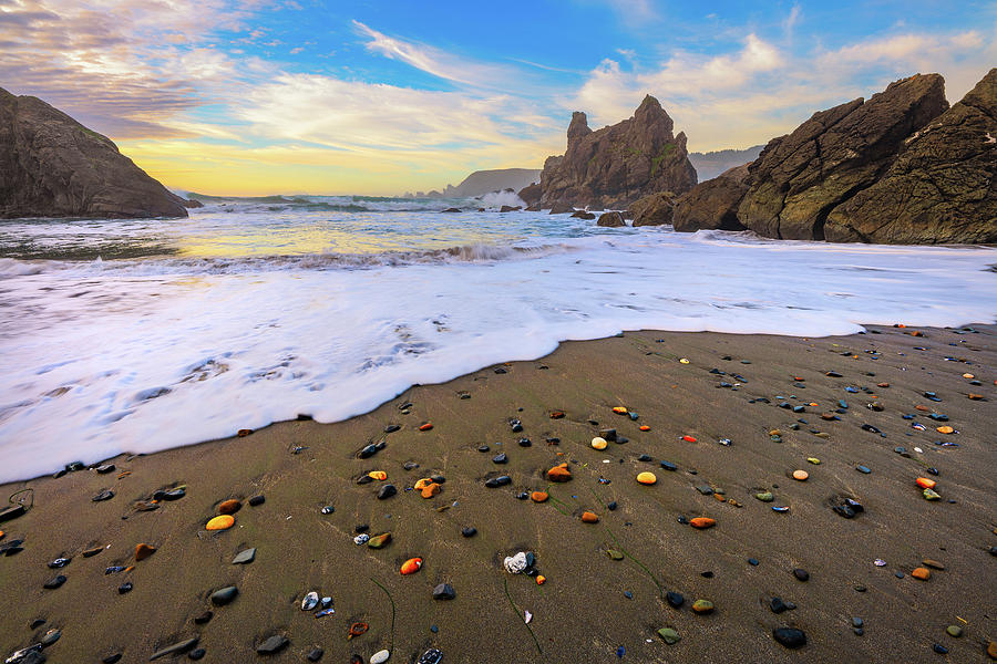 Skittles Beach by Darren White