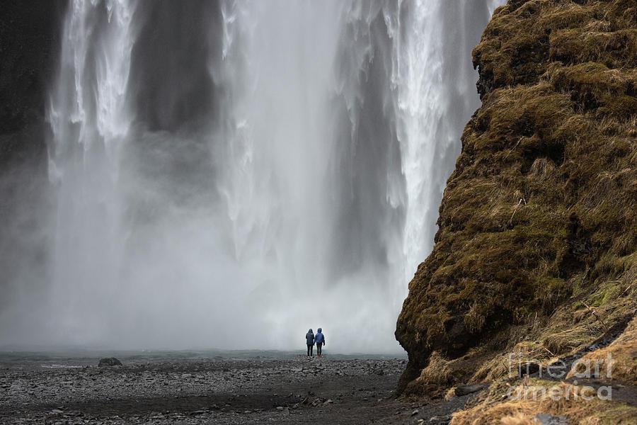 Skogafoss, Iceland by Sandra Bronstein