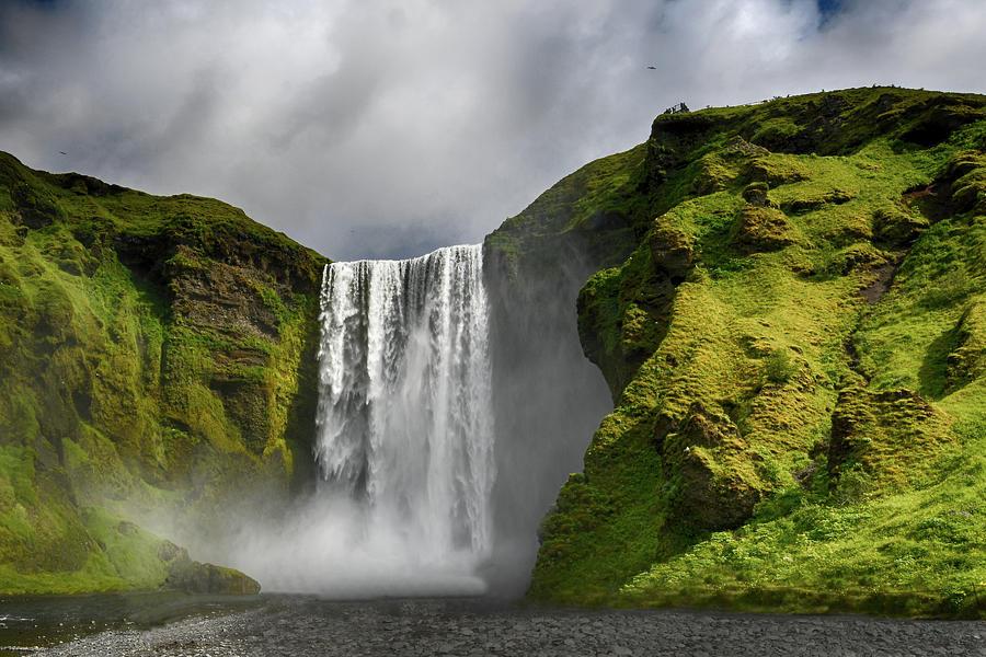 Skogafoss Waterfall Iceland 7011903 by Rick Veldman
