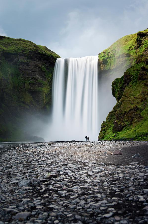 Skogafoss Waterfall, South Iceland Photograph by Daitozen