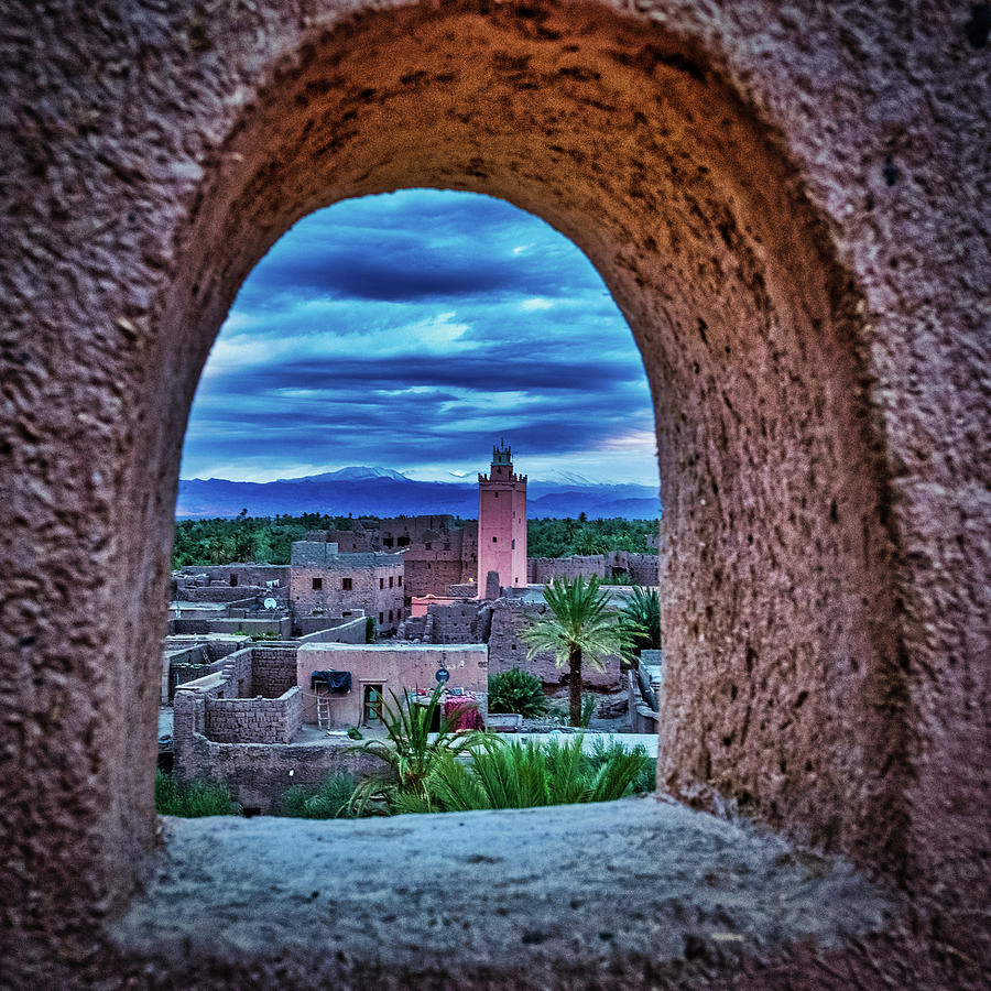 Skoura Dawn #3 - Morocco by Stuart Litoff