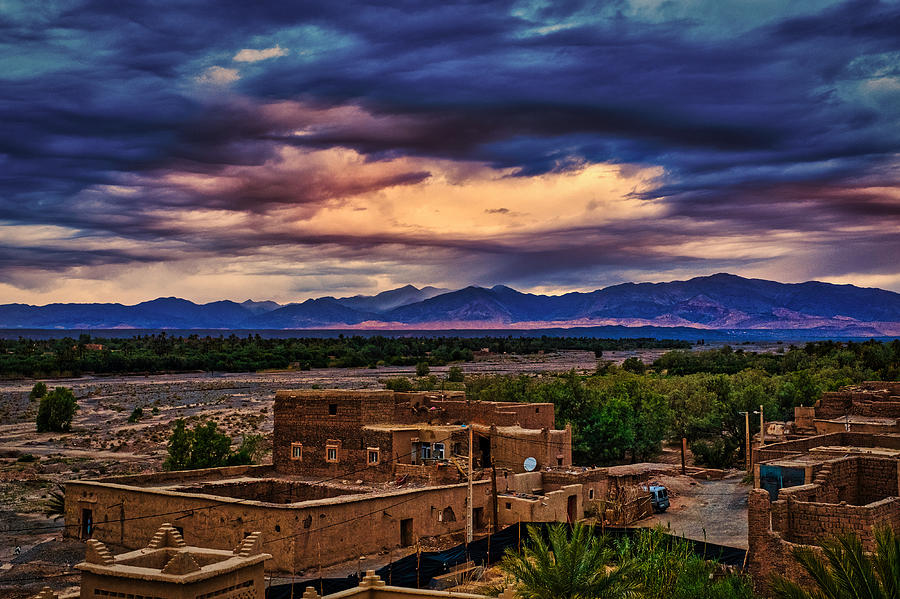 Skoura Dawn #4 - Morocco by Stuart Litoff