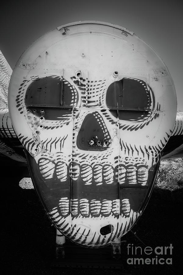 Airplane Photograph - Skulldrudgery by Edward Fielding