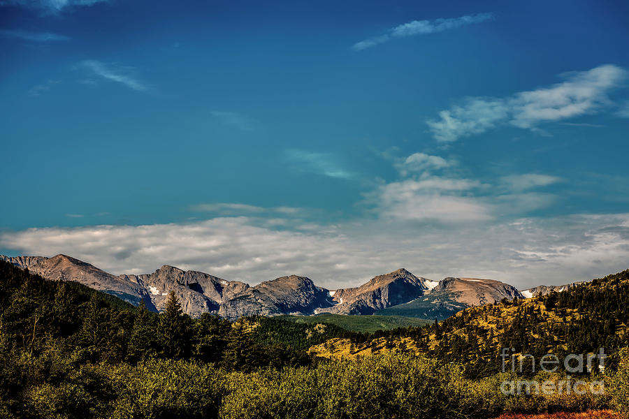 Sky and Clouds from Estes Park by Jon Burch Photography