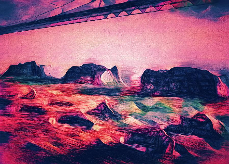 Sky Bridge Under by Bob Orsillo