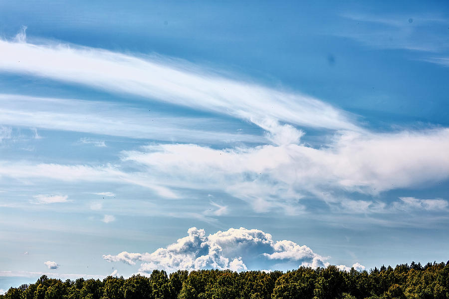 Sky over forest #i9 by Leif Sohlman