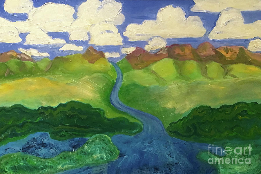 Sky River to Sea by Shelley Myers