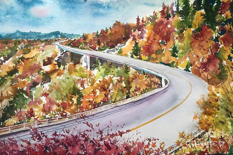 Skyline drive by George Jacob