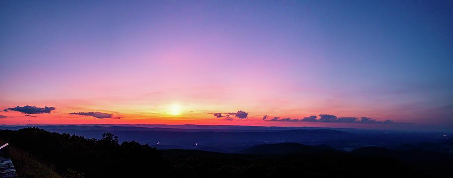 Skyline Drive Sunset by Natural Vista Photo - Matt Sexton