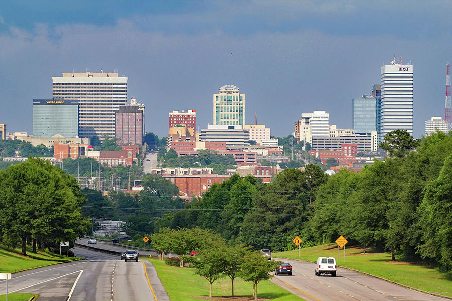 Skyline Of Columbia 2014 Color Photograph