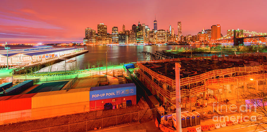 Skyline van Manhattan by Guido Koppes